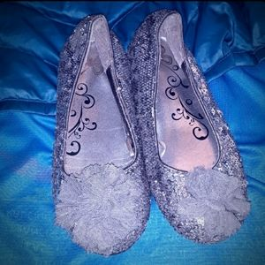 Children's Place Silver Slip On Shoes
